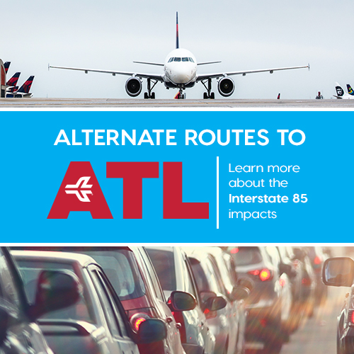 Alternate Routes to ATL I-85