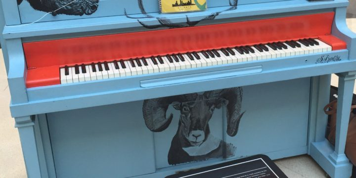 Hartsfield-Jackson hosts closing ceremony for inaugural Pianos for Peace Festival