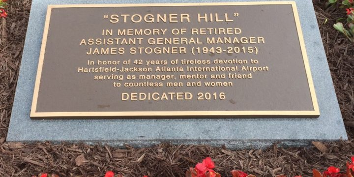In 'lasting tribute' to beloved Airport leader, Hartsfield-Jackson dedicates Stogner Hill