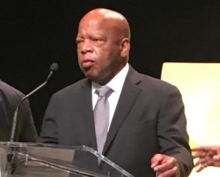"Rep. John Lewis to sign copies of bestselling trilogy ""March"" at ATL Listen"