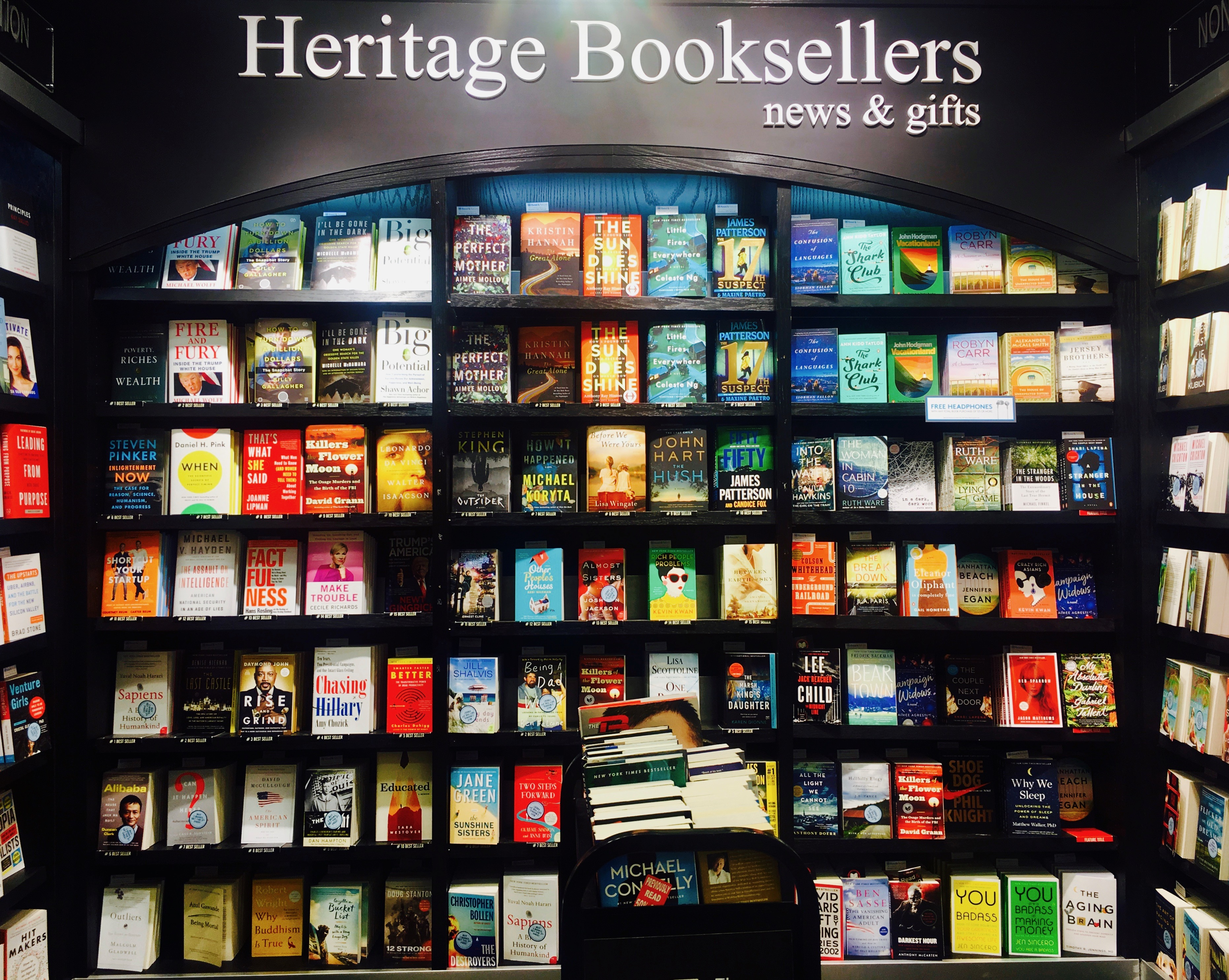 The Traveling Bookworm: Heritage Booksellers | ATL